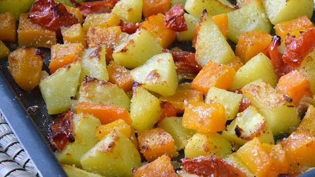 Ricetta Zucca E Patate Al Forno.Zucca E Patate Al Forno Fidelity Cucina
