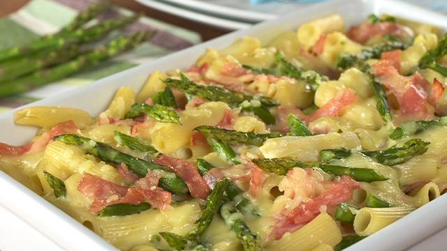 Ricetta Asparagi Al Forno Con Prosciutto E Formaggio.Pasta Al Forno Con Asparagi Prosciutto Crudo E Formaggio Fidelity Cucina