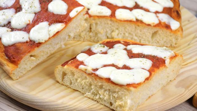Ricetta Pasta X Pizza Morbida.Pizza In Teglia Alta E Soffice Ricetta Dell Impasto Pizza Fidelity Cucina