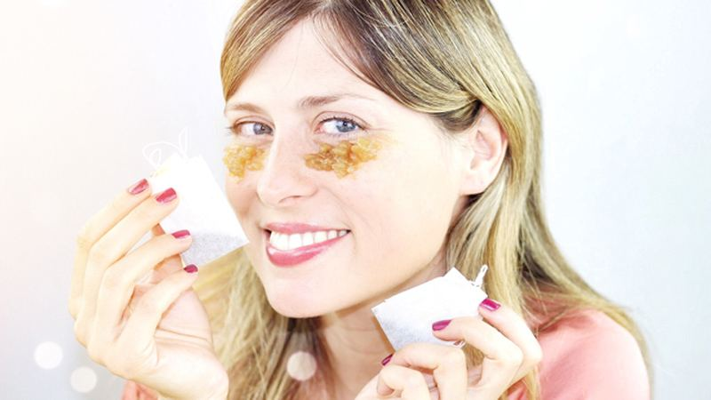DIY: Homemade black tea under eye cream